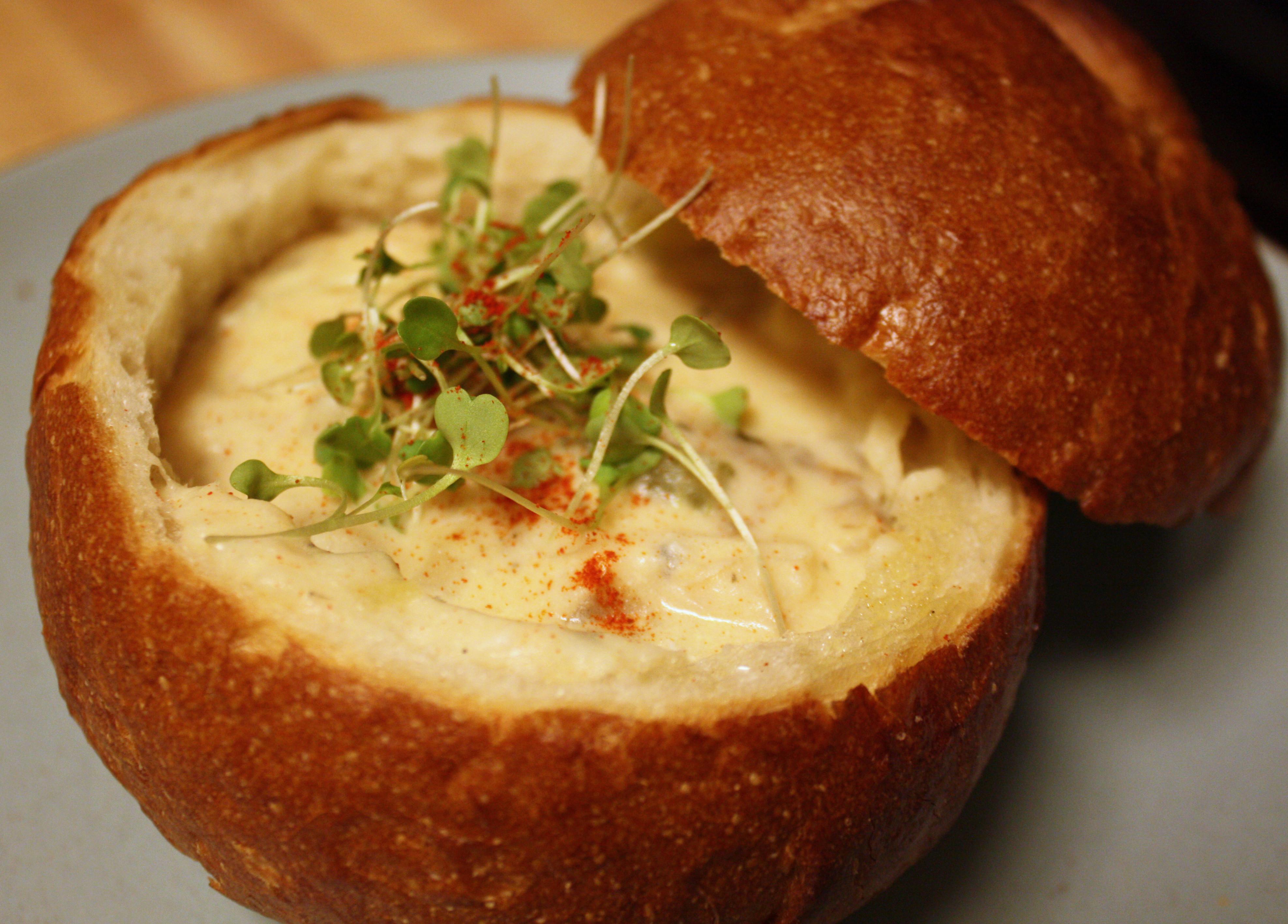 Bread Bowl Recipe  Fresh Recipes