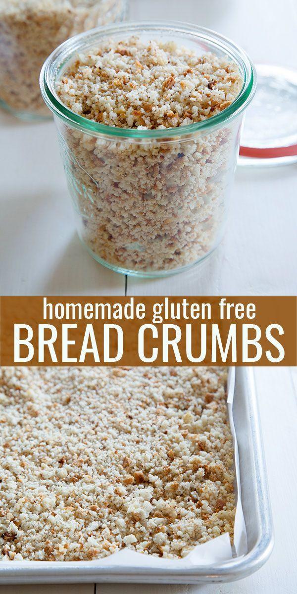 Bread Crumbs Recipe  17 Best ideas about Gluten Free Bread Crumbs on Pinterest
