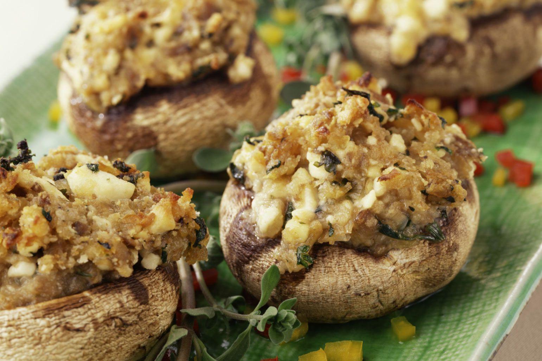 Bread Crumbs Recipe  Bread Crumb and Parmesan Stuffed Mushrooms Recipe