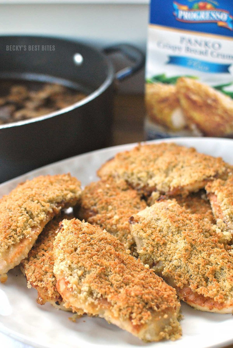 Bread Crumbs Recipe  Chicken Marsala with Parmesan and Panko Bread Crumbs