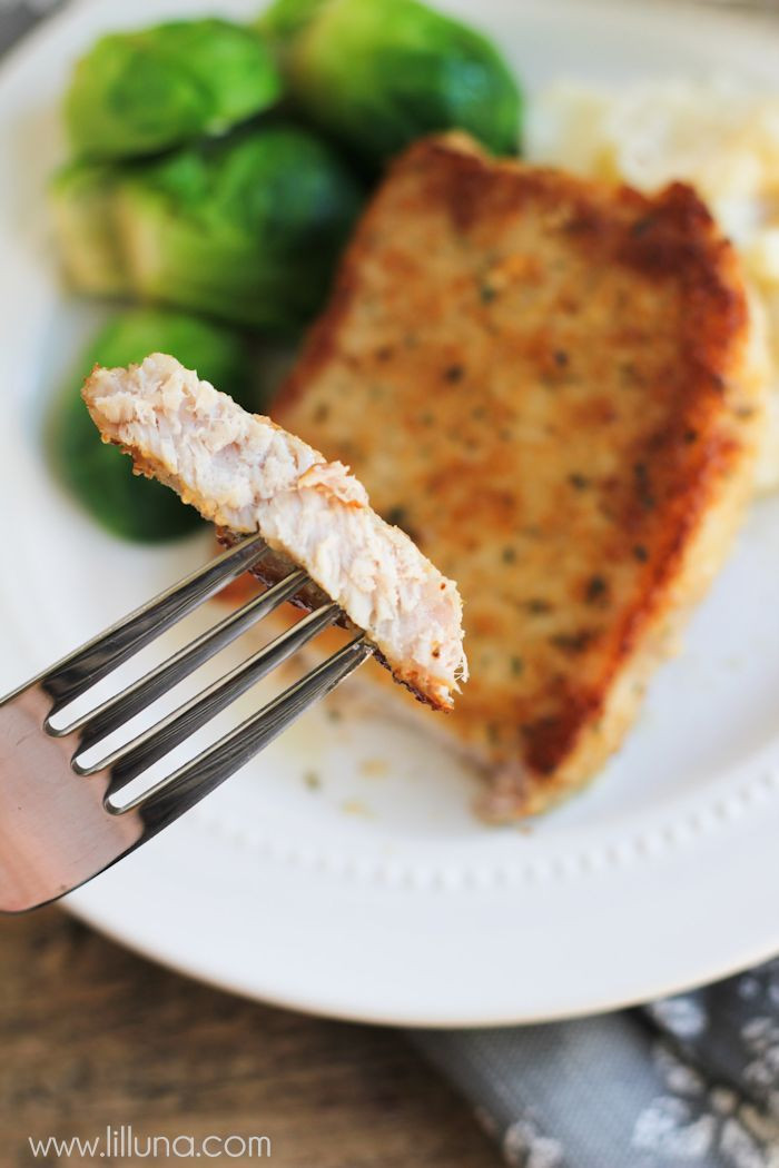 Bread Crumbs Recipe  parmesan pork chops without bread crumbs