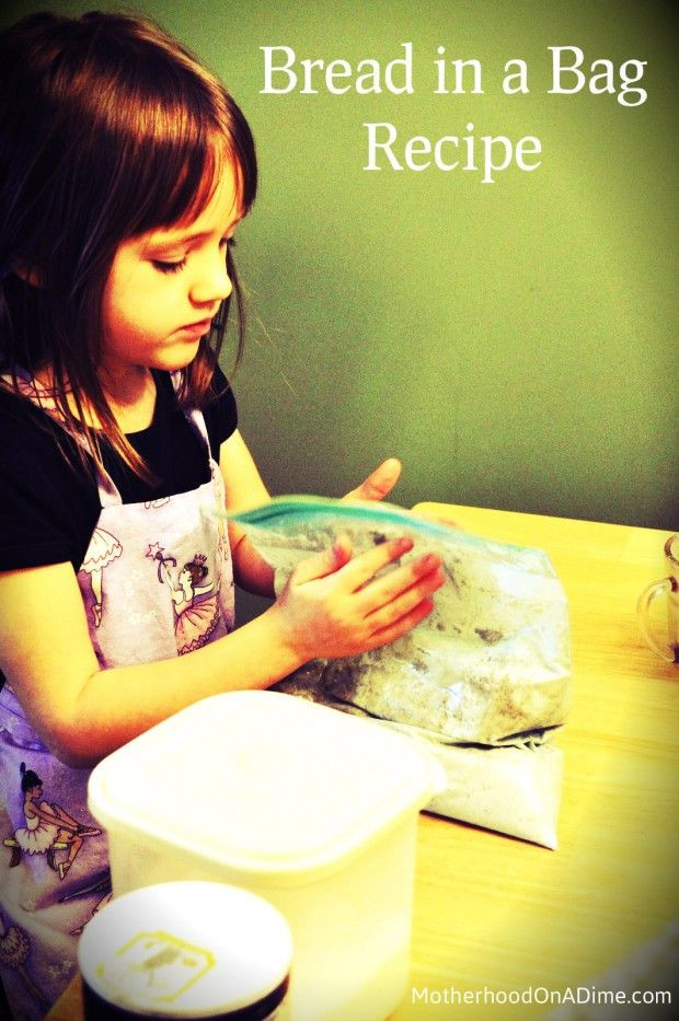 Bread In A Bag Recipe  Bread in a Bag recipe to make with kids Breads