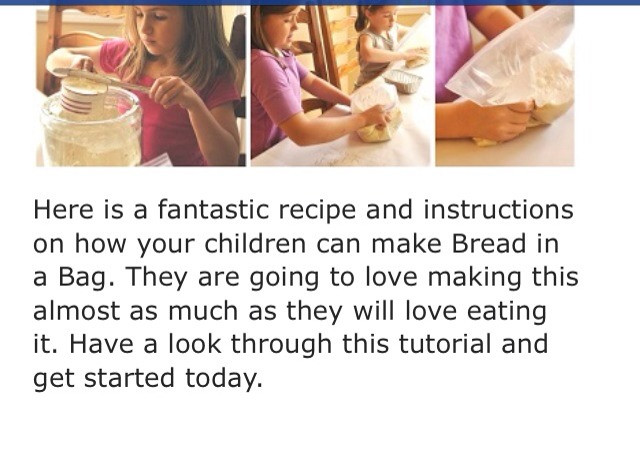 Bread In A Bag Recipe  GREAT FOR KIDS Bread In A Bag Recipe 🍞 Musely