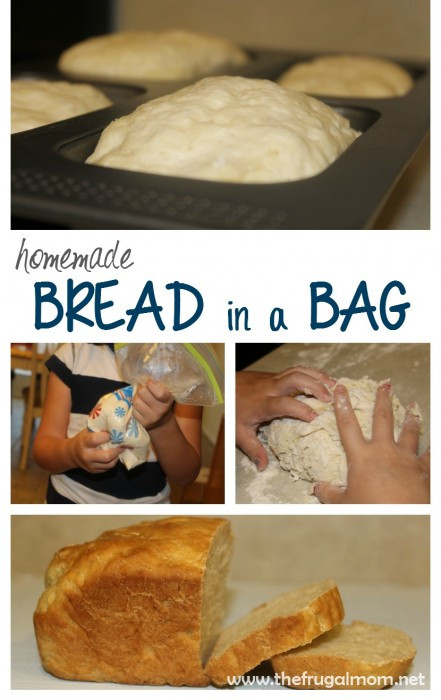 Bread In A Bag Recipe  See How My Children Did In The Kitchen Bread In A Bag Recipe