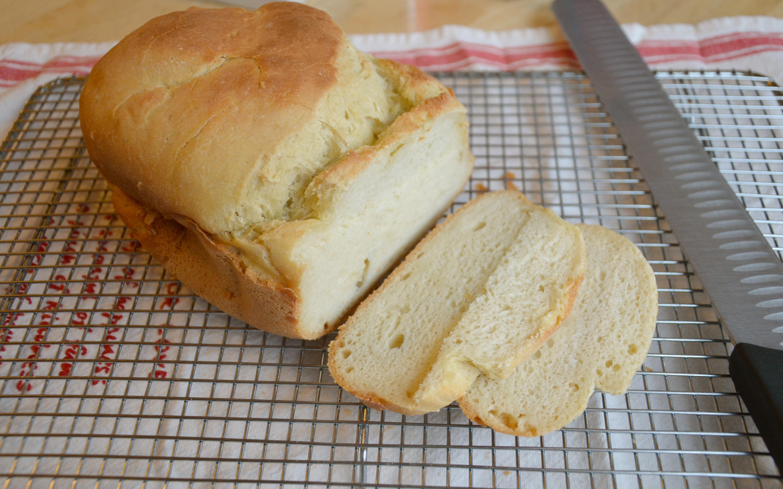 Bread Machine Bread  gluten free bread machine recipe