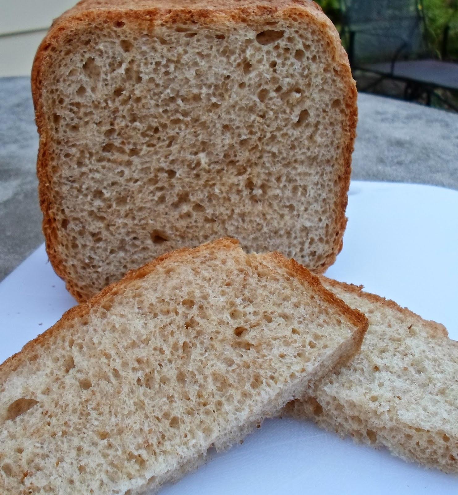 Bread Machine Bread  Happier Than A Pig In Mud Easy Whole Wheat Bread Bread