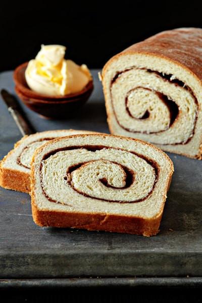 Bread Machine Cinnamon Bread  Cinnamon Swirl Bread