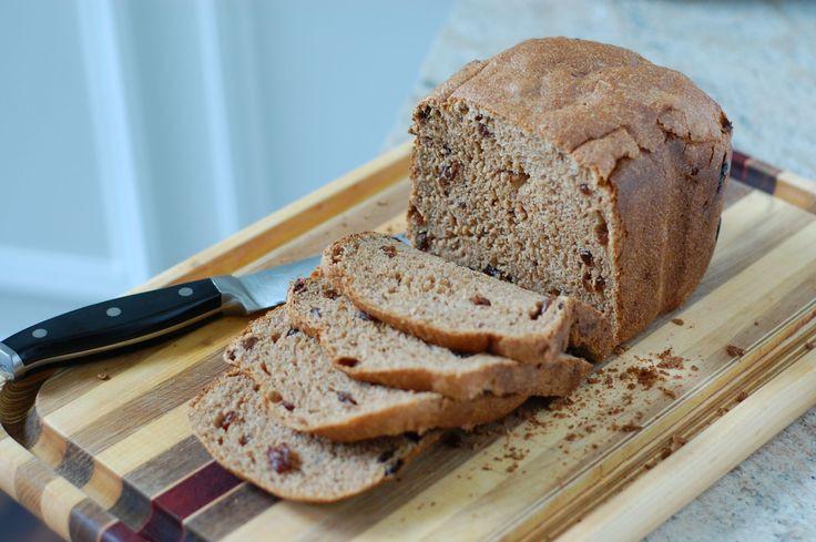 Bread Machine Cinnamon Bread  Cinnamon Raisin Bread from 100 Days of Real Food Cinnamon
