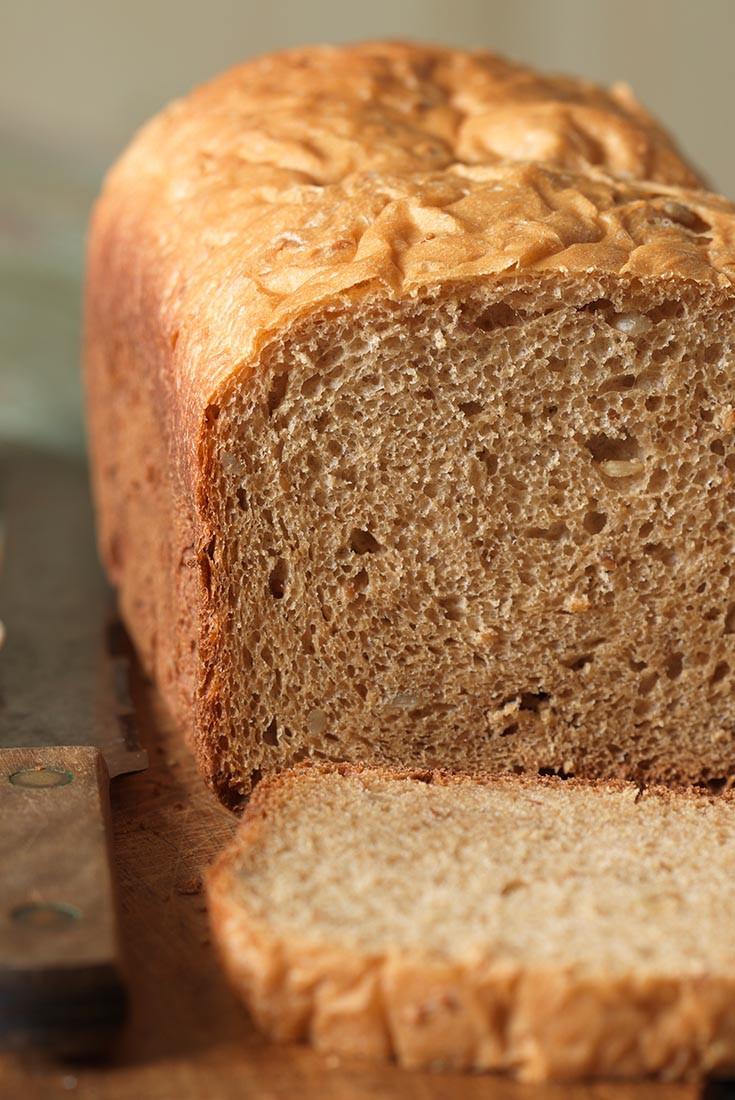 Bread Machine Wheat Bread  Whole Wheat Bread for the Bread Machine Recipe