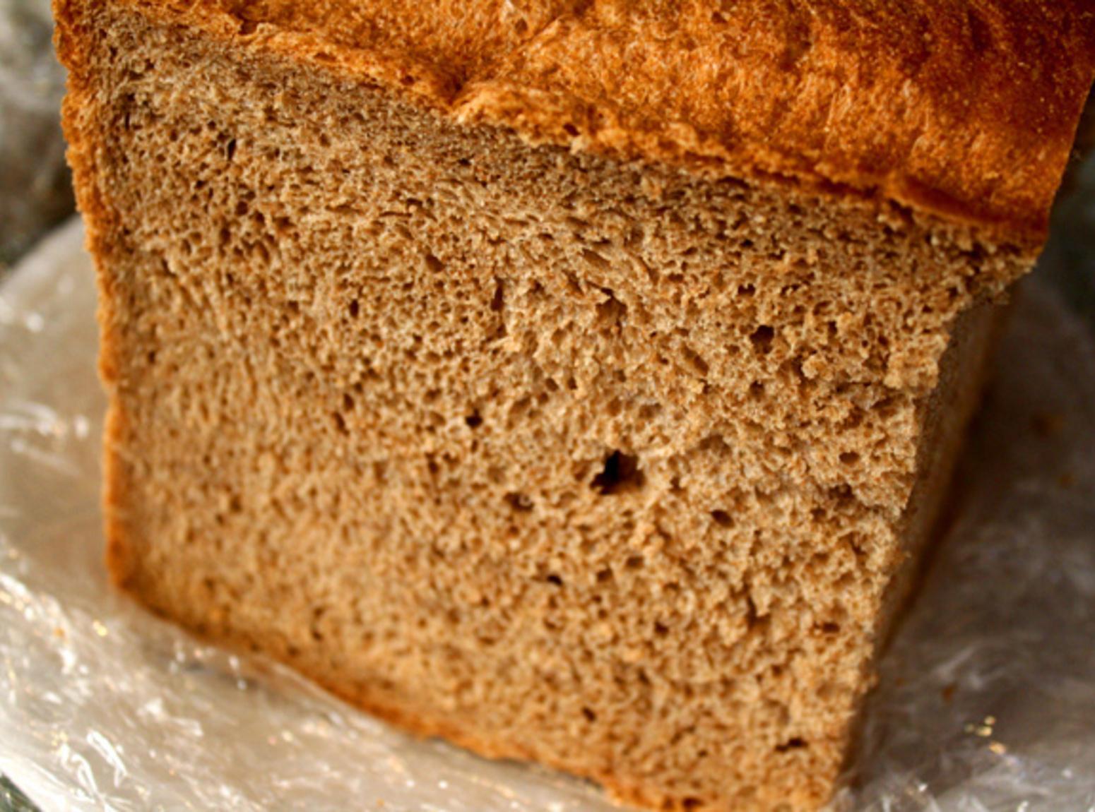 Bread Machine Whole Wheat Bread  100 Whole Wheat Bread in a Bread Machine Recipe