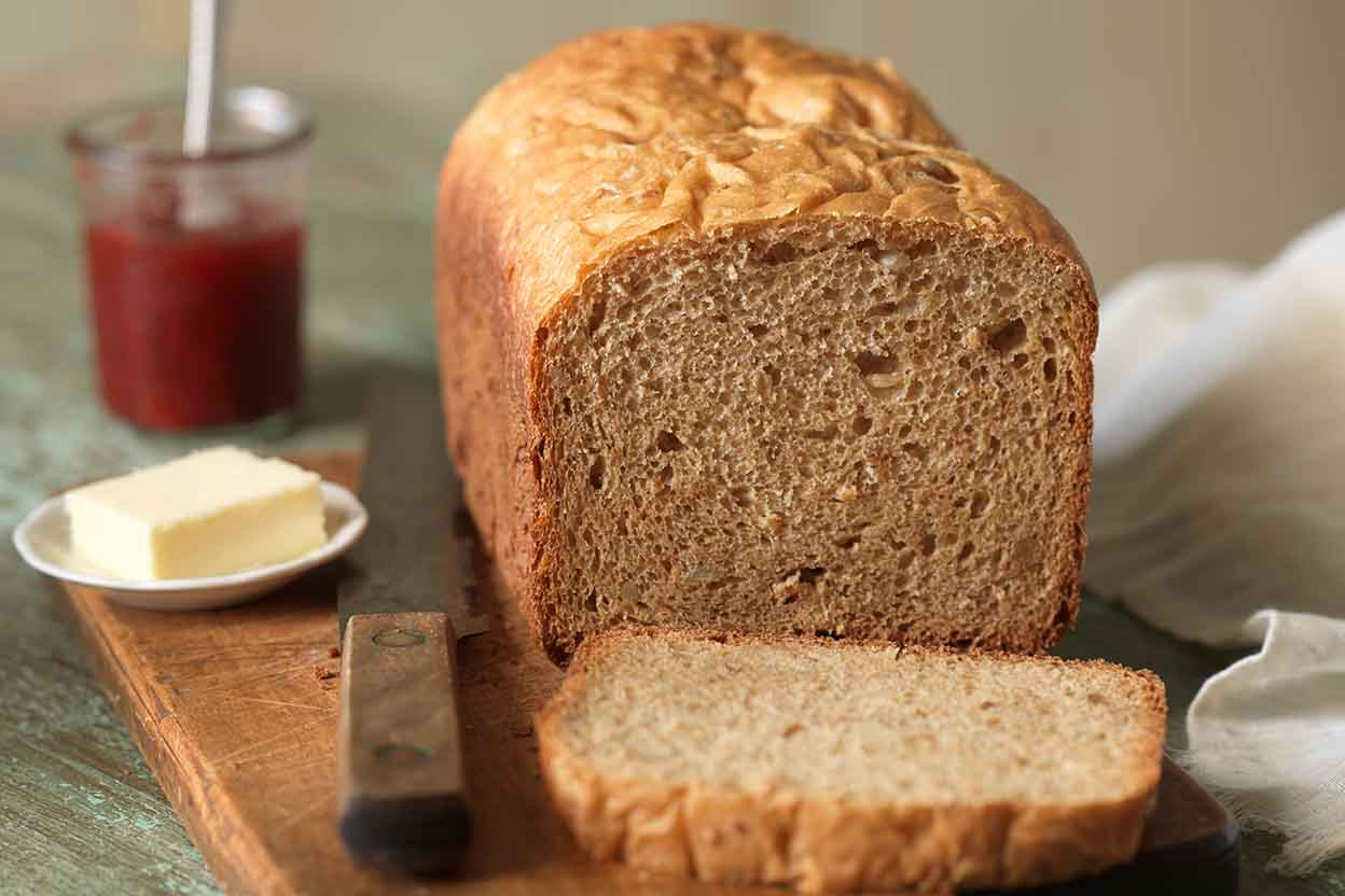 Bread Machine Whole Wheat Bread  Whole Wheat Bread for the Bread Machine Recipe