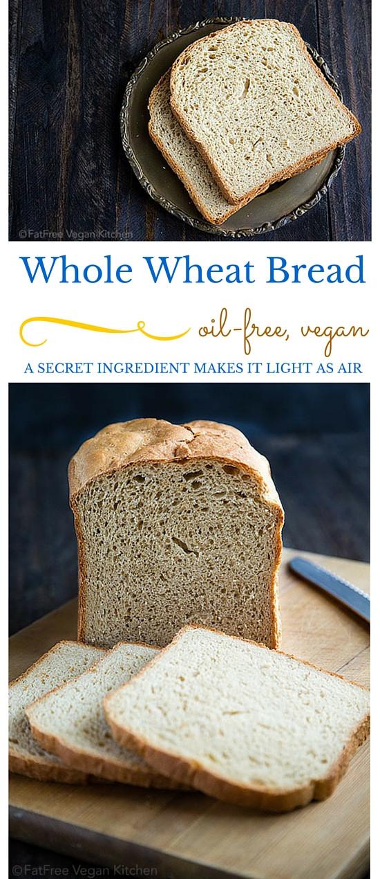 Bread Machine Whole Wheat Bread  Fat Free Whole Wheat Bread for Bread Machines