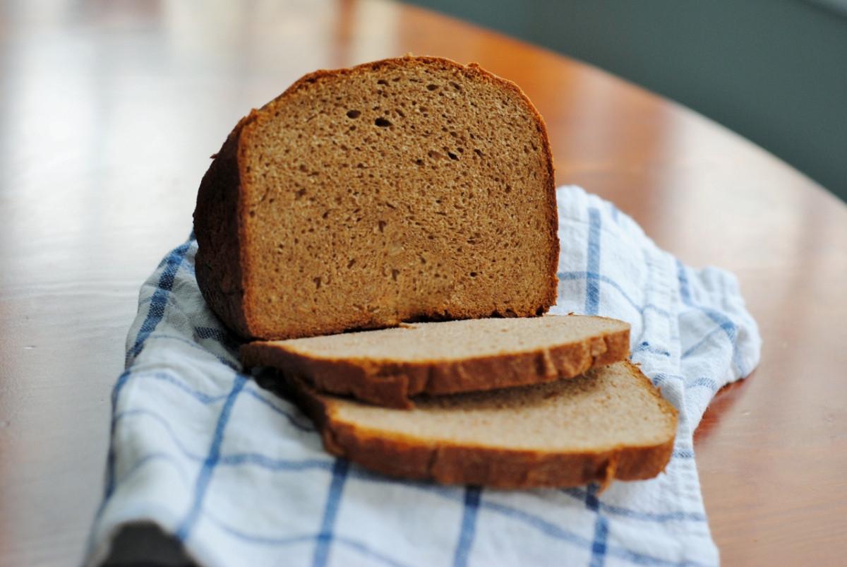 Bread Machine Whole Wheat Bread  Bread Machine Whole Wheat Sandwich Bread – Diana Dishes