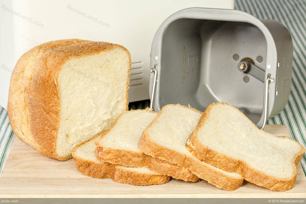 Bread Maker Machine Recipes  White Bread For Bread Machine Recipe
