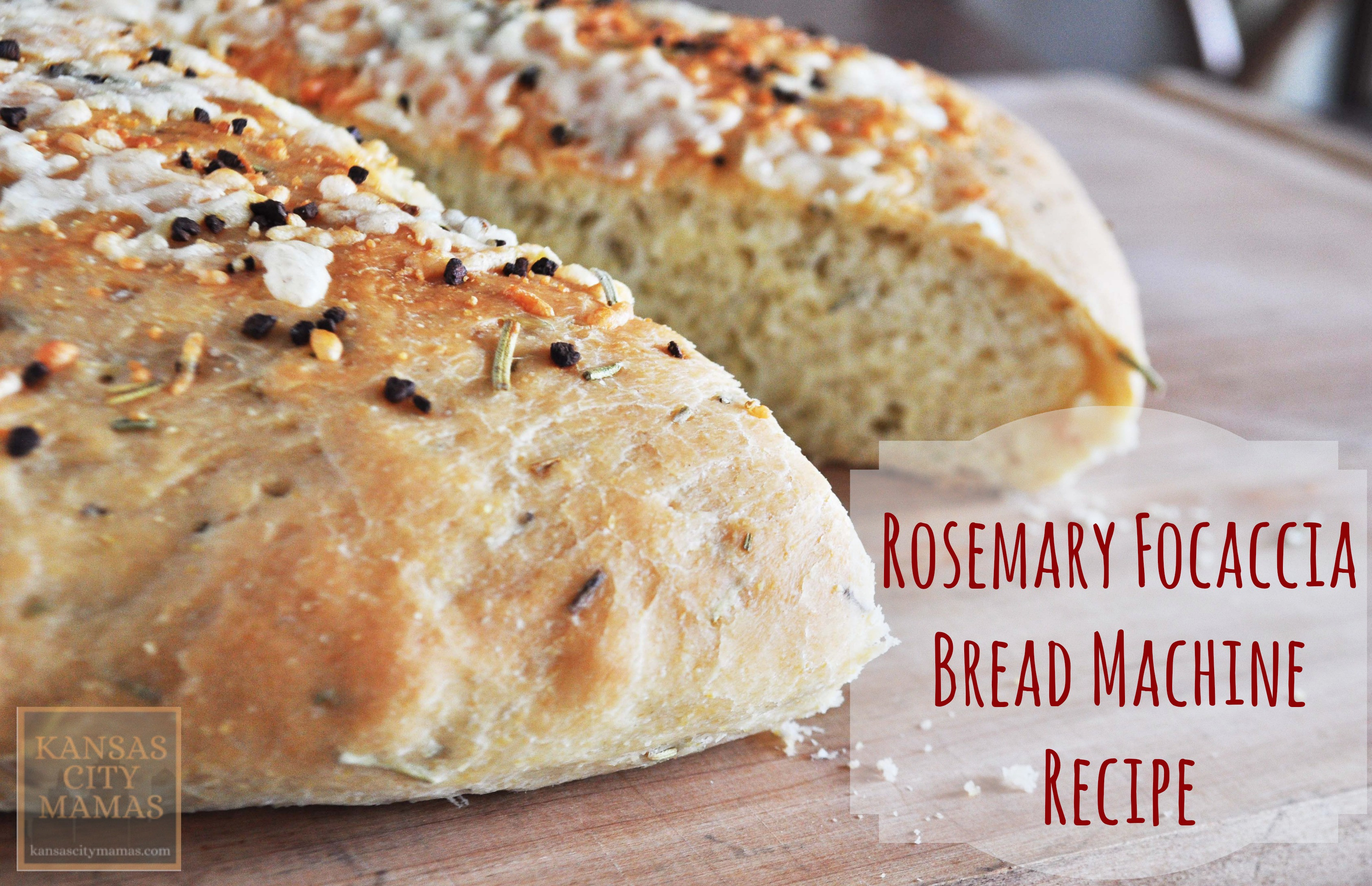 Bread Maker Machine Recipes  Rosemary Focaccia Bread Machine Recipe