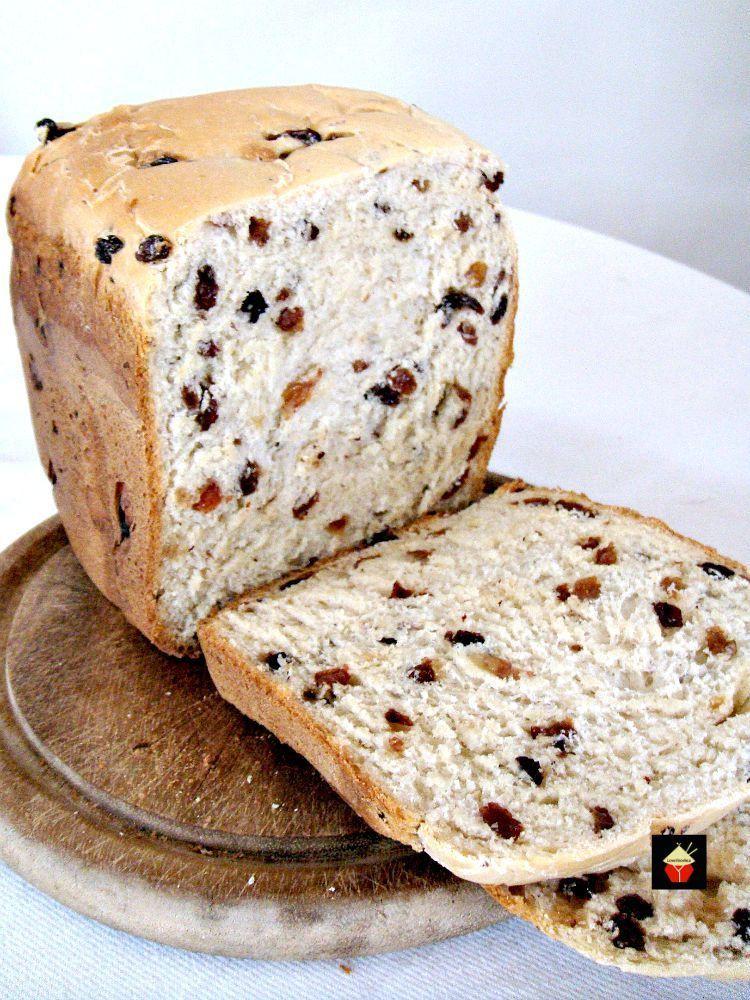 Bread Maker Recipe  Cinnamon Raisin Bread – Lovefoo s