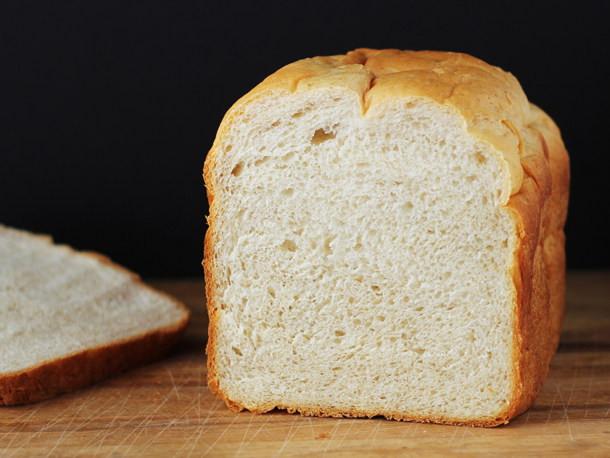 Bread Maker Recipes  Bread Baking Buttery Bread Machine Loaf