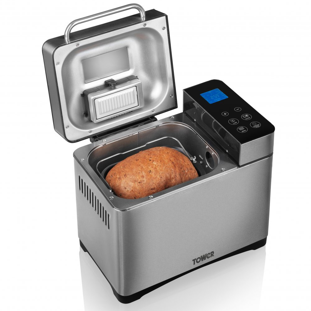 Bread Making Machine  Gluten Free Digital Bread Maker with Nut Dispenser