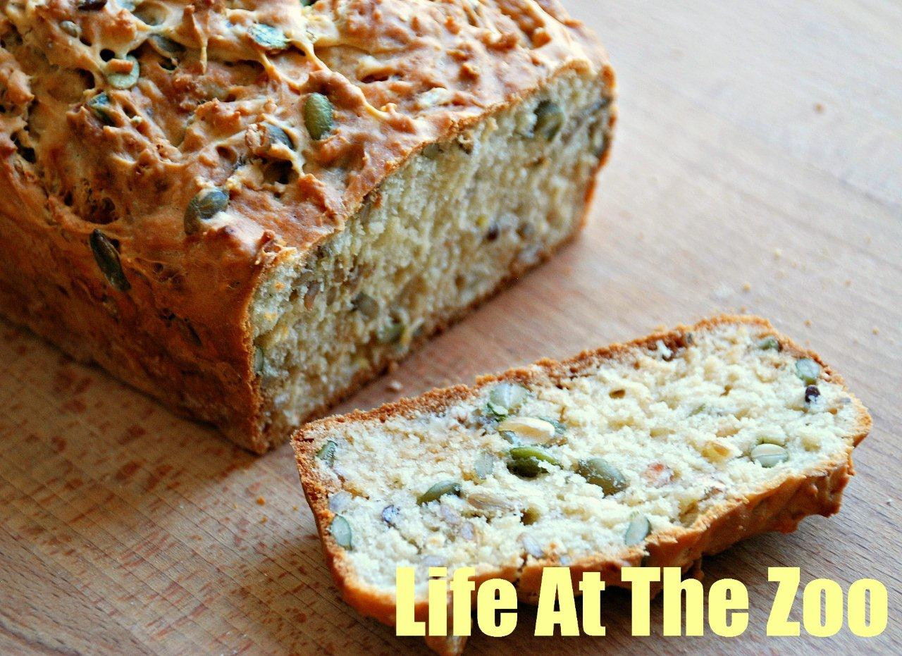 Bread Recipe With Yeast  Easy No Yeast Bread That Anyone can Bake Life At The Zoo