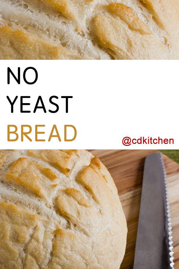 Bread Recipe With Yeast  bread recipe no yeast or baking powder