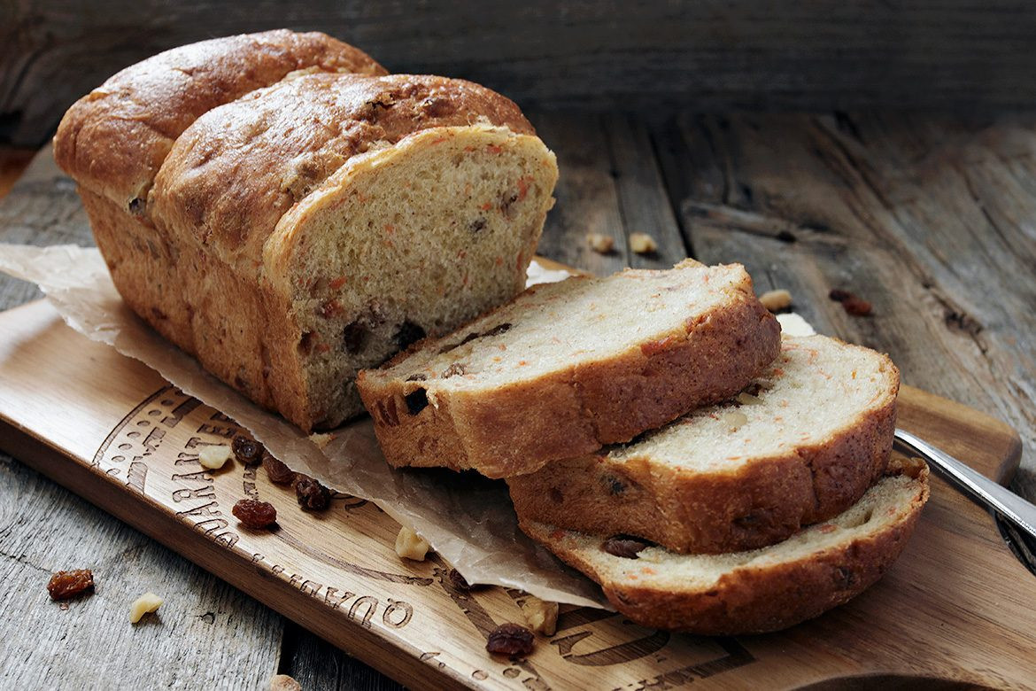 Bread Recipe With Yeast  Carrot Raisin Walnut Yeast Bread Seasons and Suppers