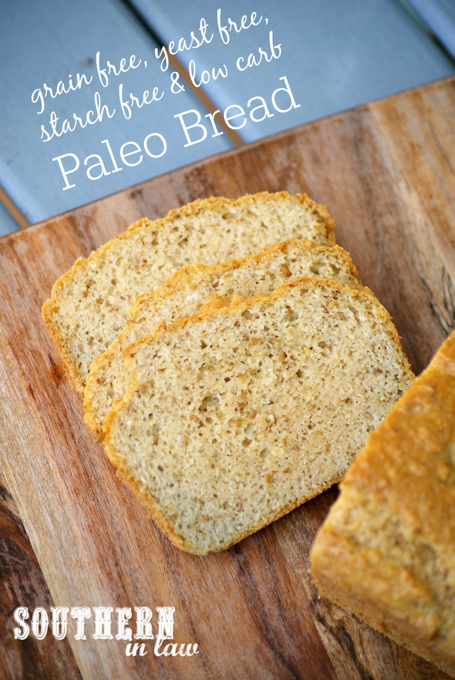 Bread Recipe With Yeast  Southern In Law Recipe Starch Yeast & Grain Free Paleo