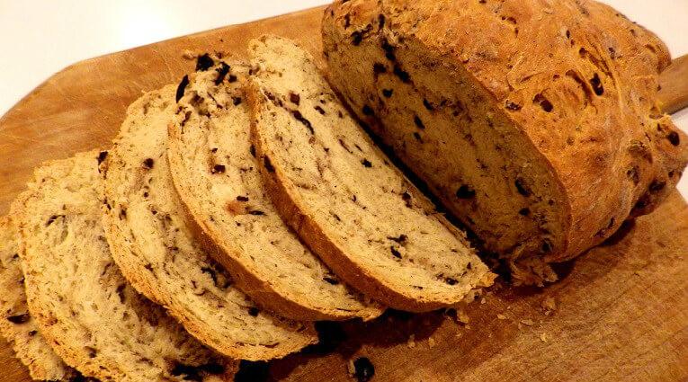 Bread Recipes For Bread Machine  Olive Bread Recipe