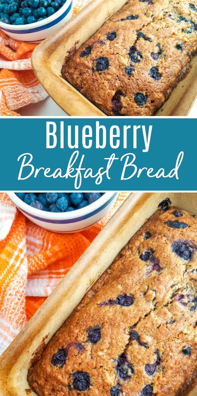 Bread Recipes For Breakfast  Blueberry Breakfast Bread Recipe
