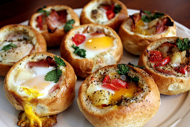 Bread Recipes For Breakfast  Perfecting the Pairing Customizable Bread Bowl Breakfast