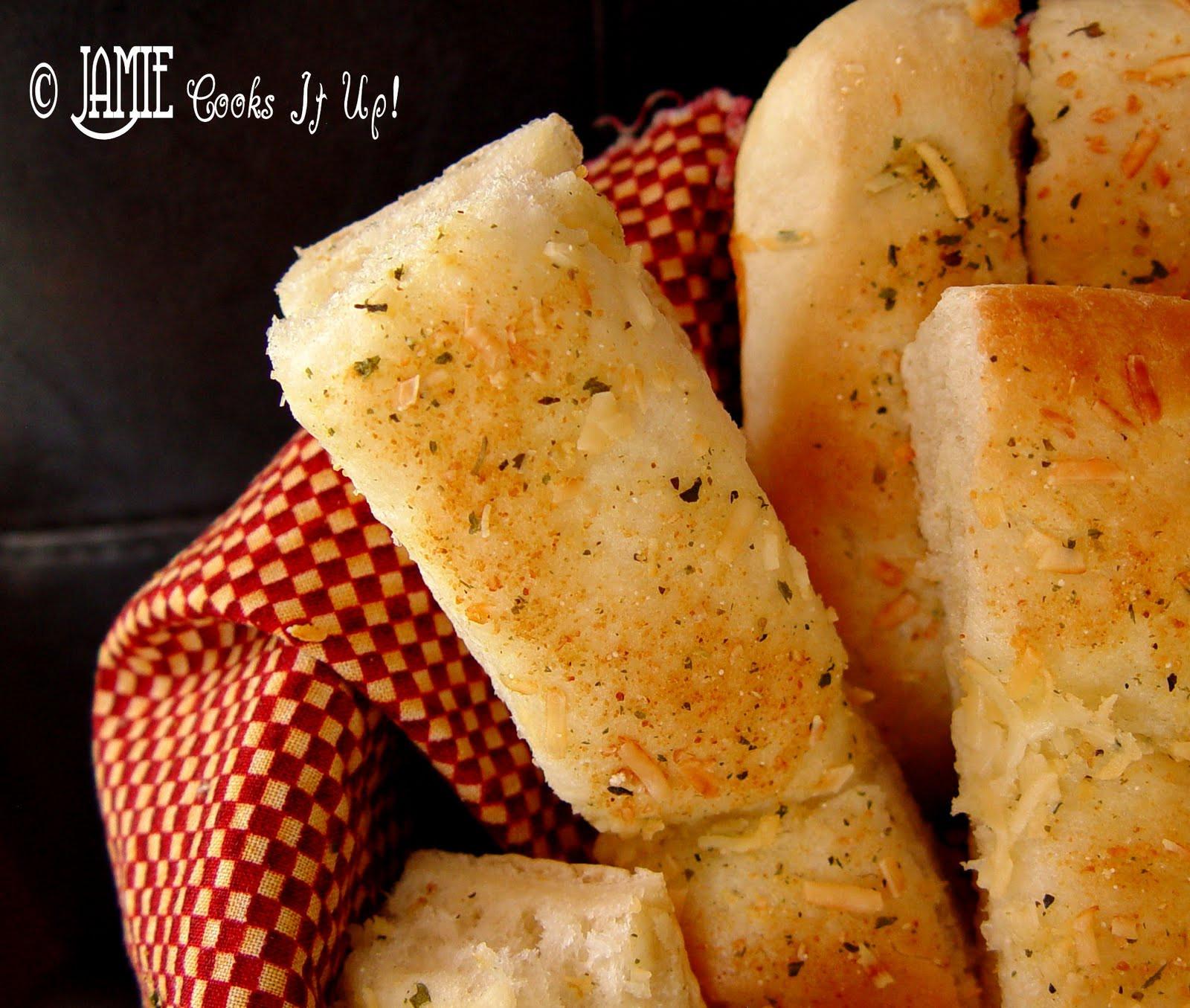 Bread Sticks Recipe  Quick and Easy Breadsticks