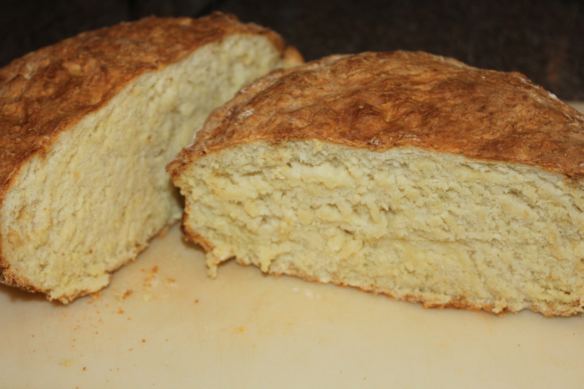 Bread Without Yeast  Traditional Irish Soda Bread Recipe – No Yeast Kneading
