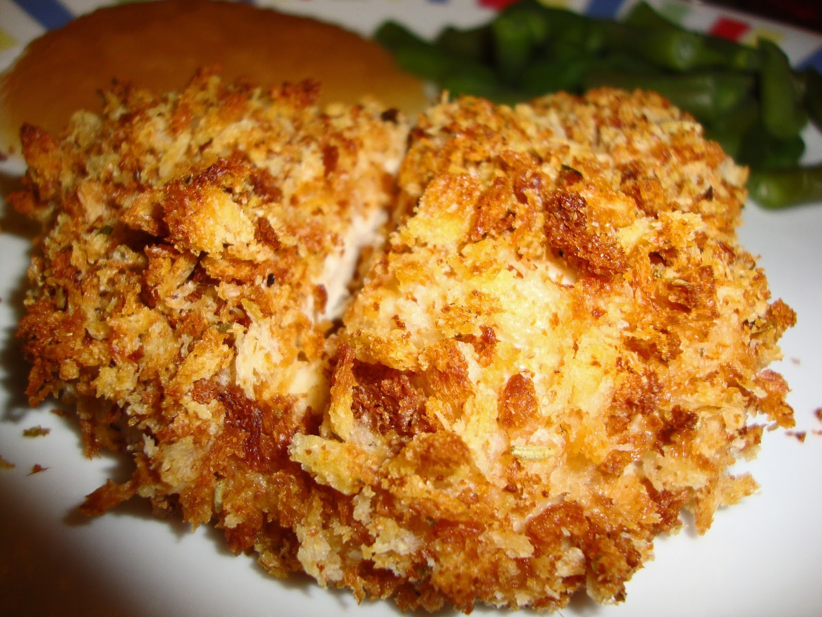 Breaded Baked Chicken  Dining with Dinosaurs Baked Breaded Chicken