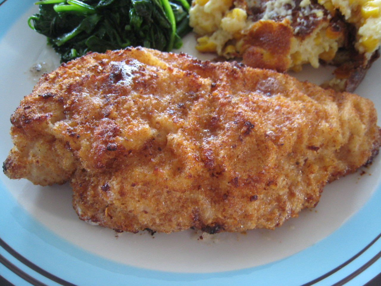 Breaded Baked Chicken  e Happy Cookie