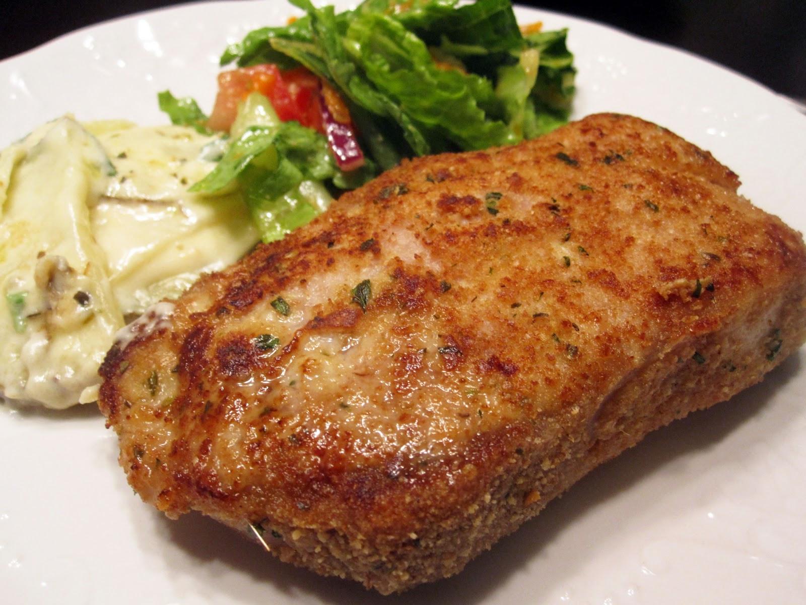 Breaded Baked Pork Chops  Baked Italian Style Breaded Pork Chops