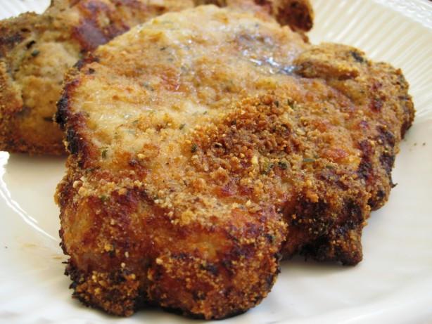 Breaded Baked Pork Chops  Breaded Baked Pork Chops Recipe Food