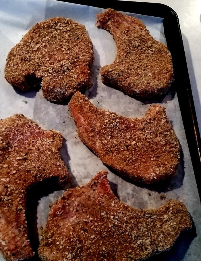 Breaded Baked Pork Chops  Easy Oven Baked & Breaded Pork Chops SundaySupper