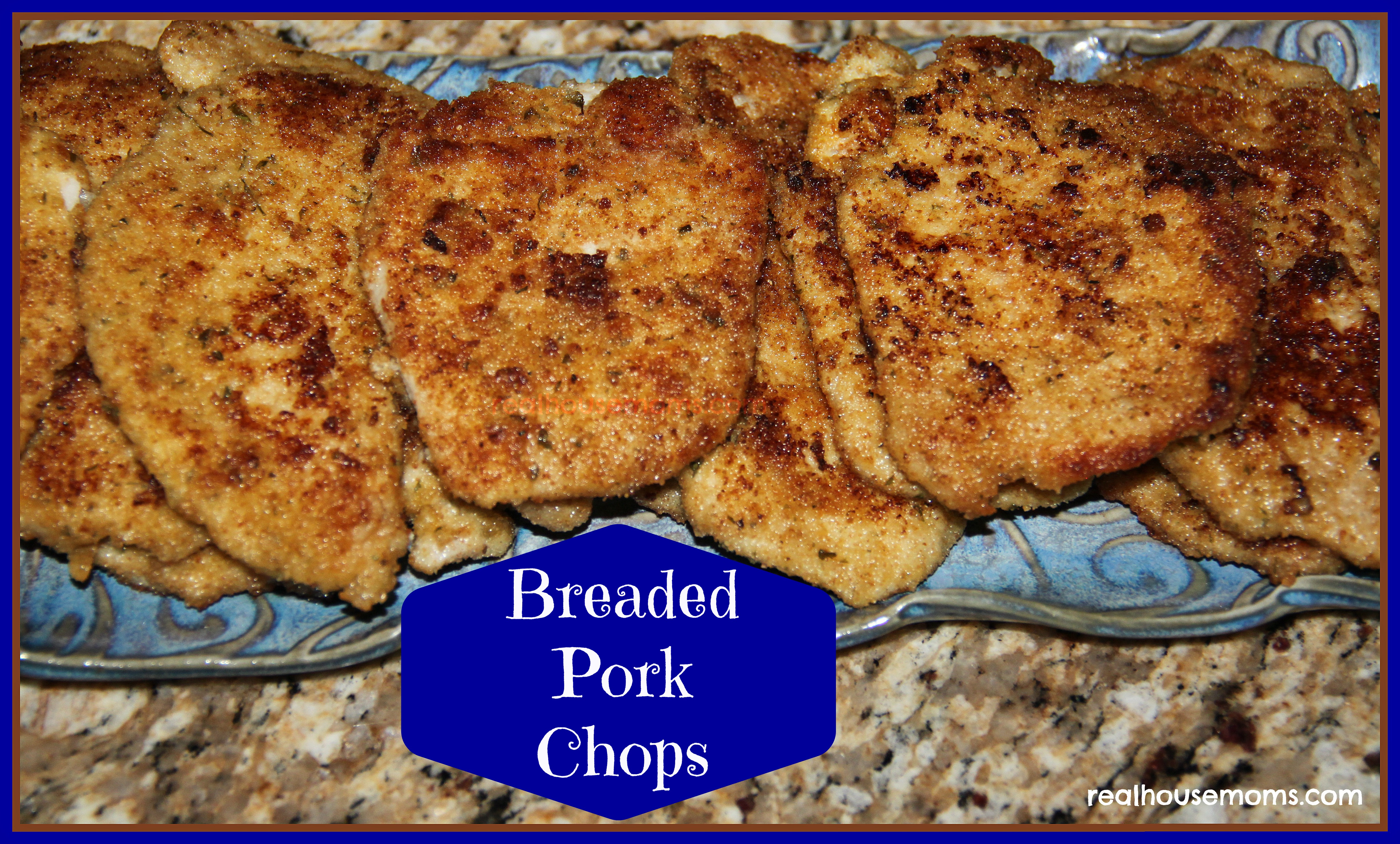 Breaded Boneless Pork Chops  Breaded Pork Chops