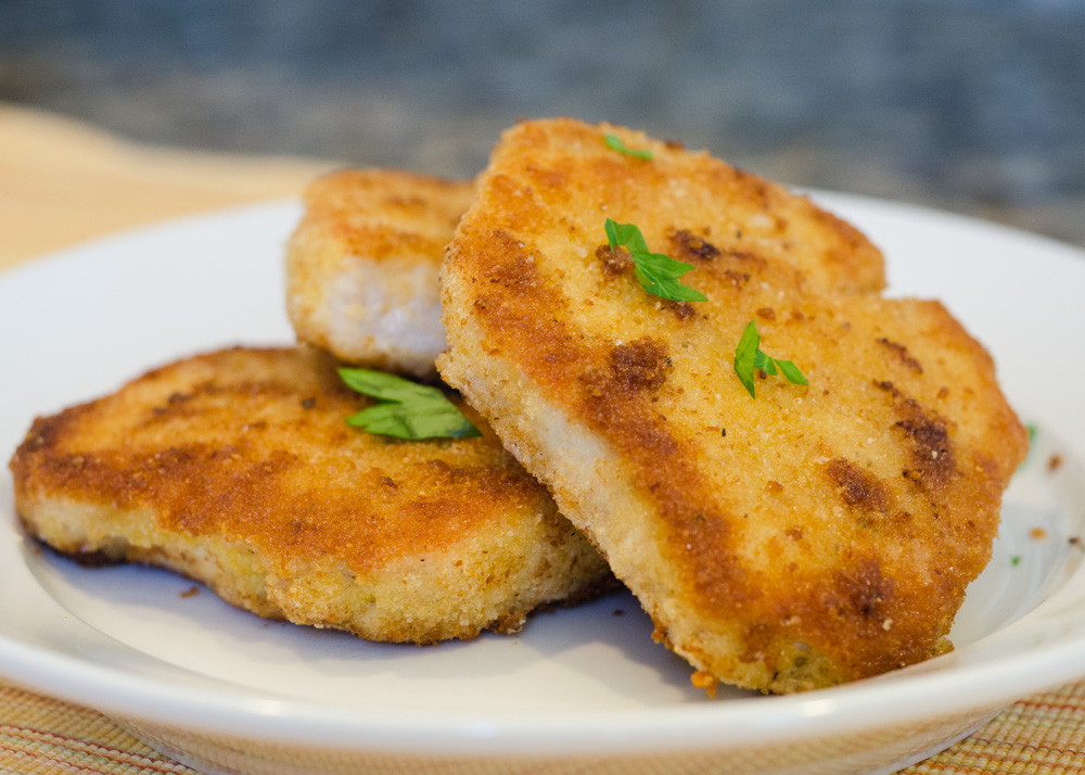 Breaded Fried Pork Chops  Crispy Breaded Pork Chops Simple Awesome Cooking