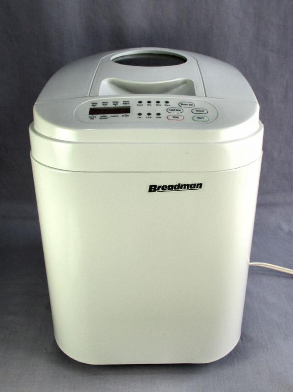 Breadman Bread Machine  SALTON BREADMAN BREAD MAKER MACHINE TR 333 APPLIANCE