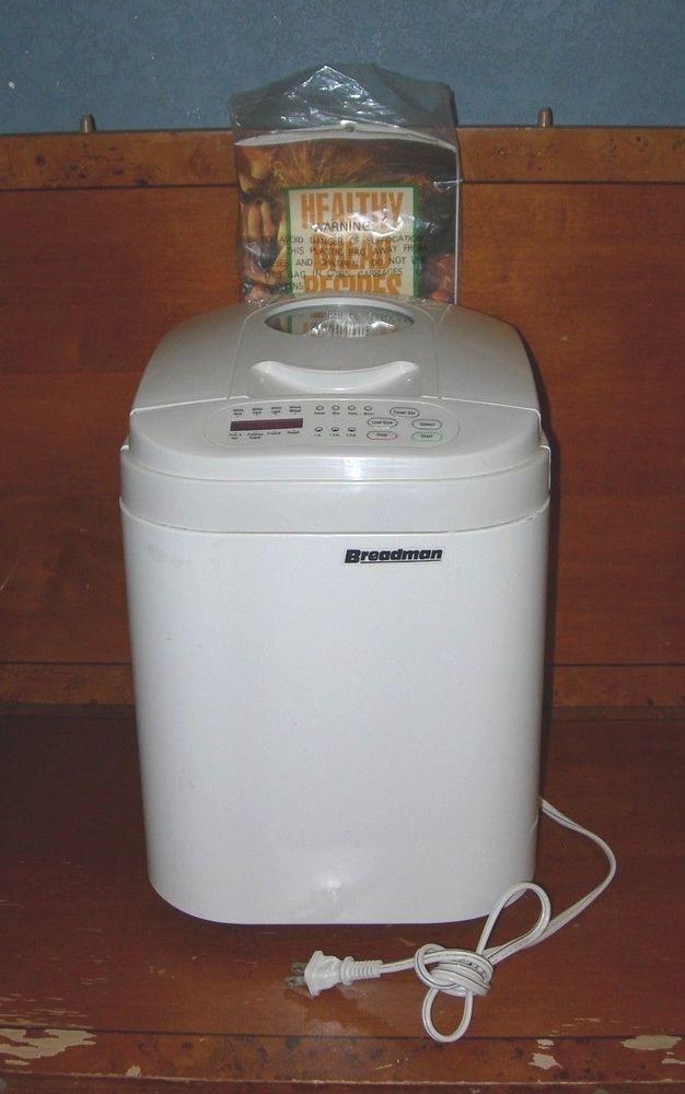Breadman Bread Machine  Breadman Automatic Home Bread Maker Machine Model TR444