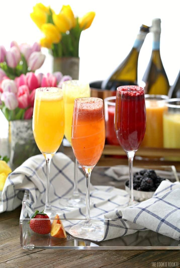 Breakfast Alcoholic Drinks  Homemade Bellini Bar DrinkWire