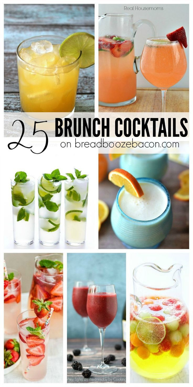 Breakfast Alcoholic Drinks  Brunch without booze is a sad late breakfast So let s