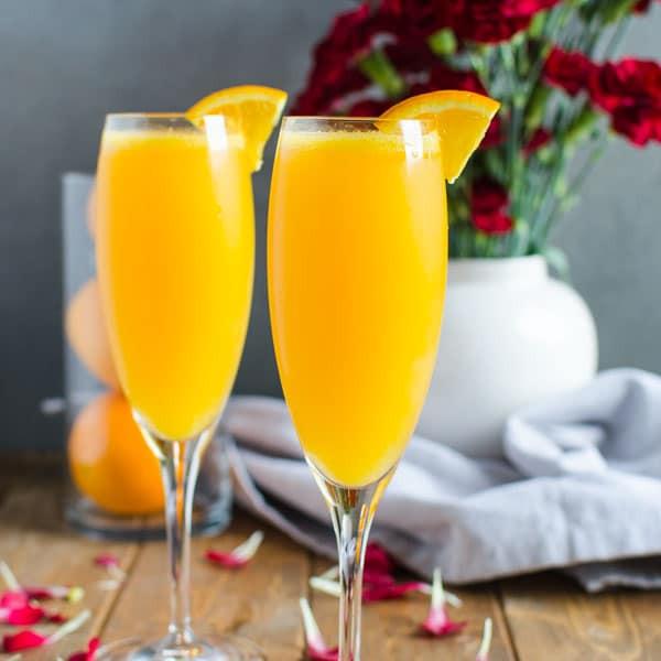 Breakfast Alcoholic Drinks  Best Mimosa Recipe A Healthy Brunch Drink