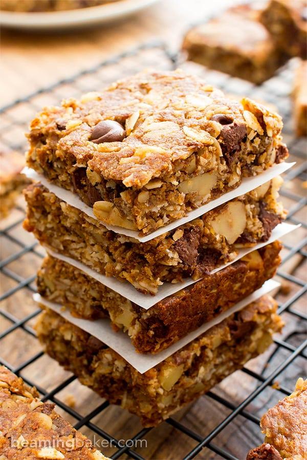 Breakfast Bars Recipe  oatmeal bars recipe