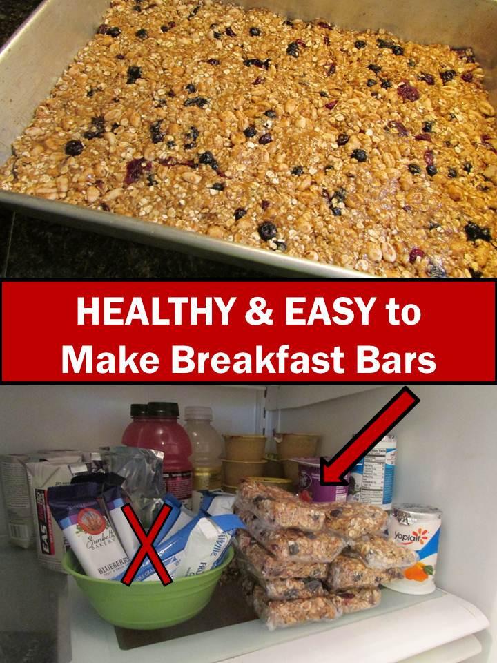 Breakfast Bars Recipe  Promoting Success Back To School Healthy Breakfast Bars