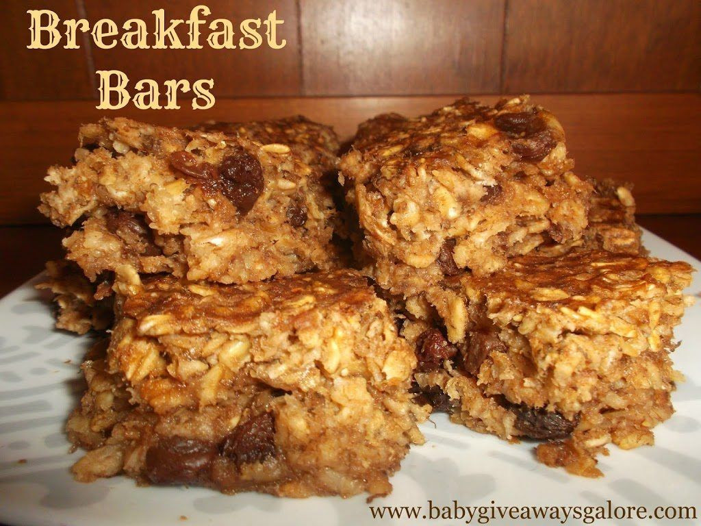 Breakfast Bars Recipe  Breakfast Like a King Mums Make Lists