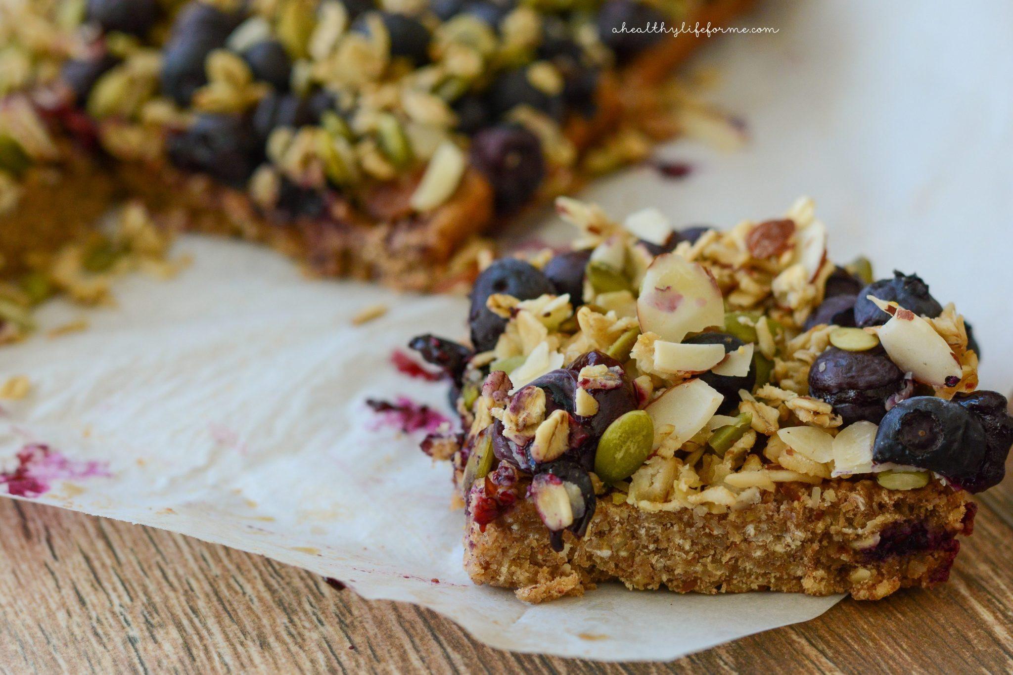 Breakfast Bars Recipe  Oatmeal Superfood Breakfast Bars A Healthy Life For Me