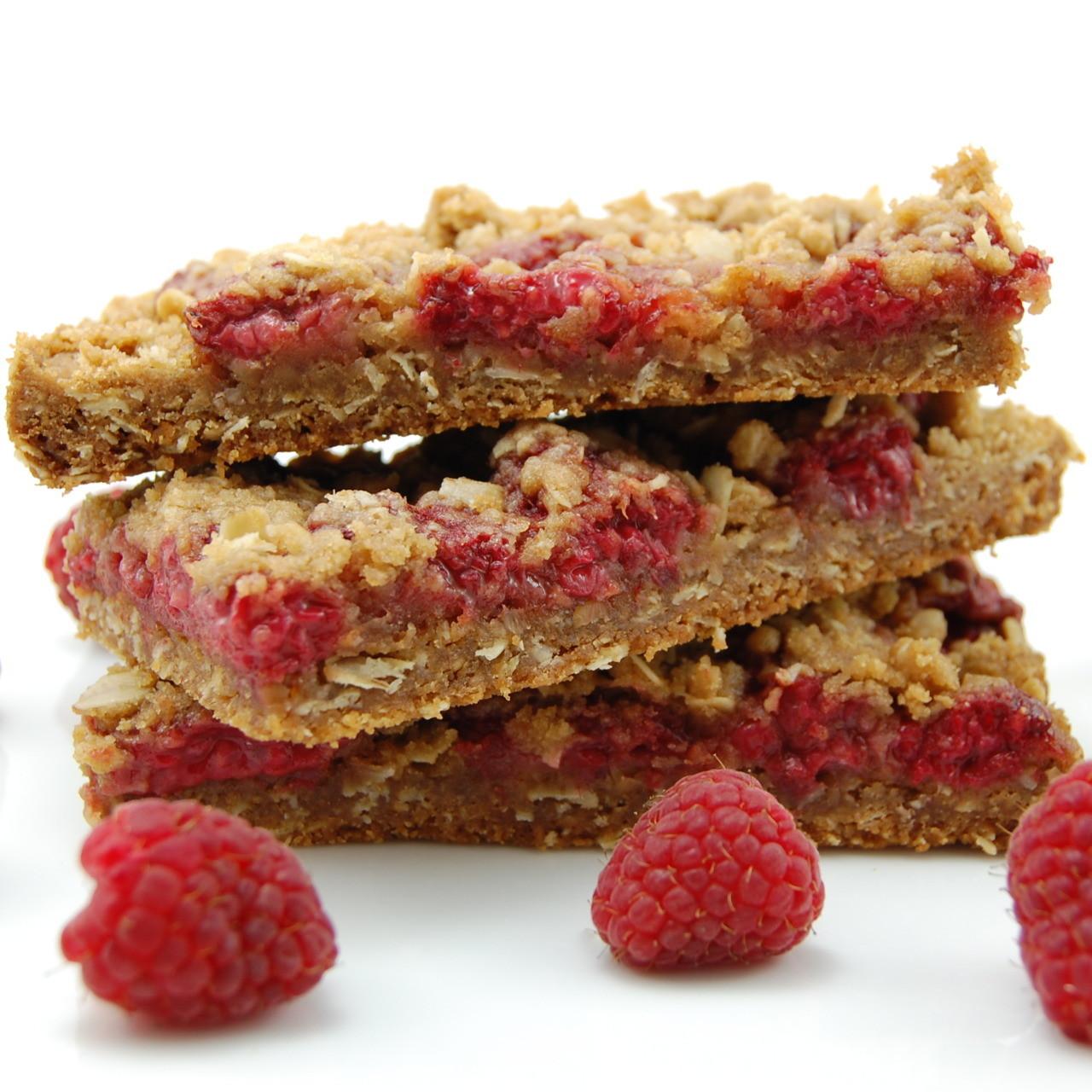 Breakfast Bars Recipes  Raspberry Breakfast Bars Recipe — Dishmaps