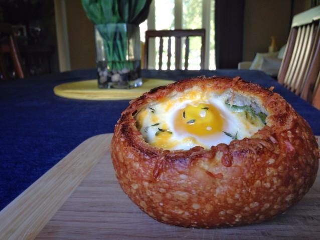 Breakfast Bread Bowl  Breakfast Bread Bowls – The Cordial Chef