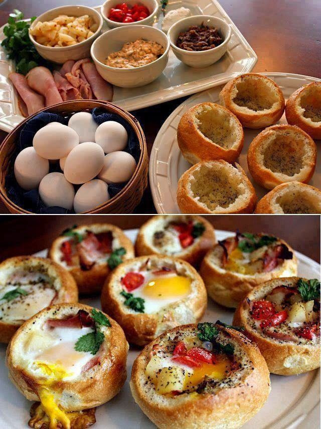 Breakfast Bread Bowl  How To Make Breakfast Bread Bowls s and